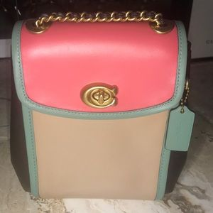 COACH crossbody/backpack versatile purse